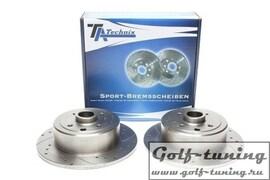 Opel Kadett E / Vectra A Комплект спортивных тормозных дисков
