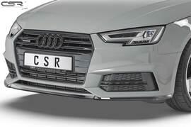 Audi A4 B9 S-Line / S4 8W 2015-05/2019 Накладка cupspoilerlip на передний бампер глянцевая