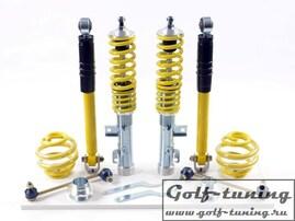 VW Golf 4 4 Motion Винтовая подвеска FK Automotive AK Street c регулировкой по высоте