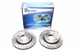 Mitsubishi Colt/Smart Forfour Комплект спортивных тормозных дисков