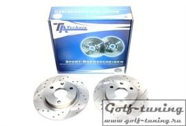 Citroen AX / Saxo / Peugeot 106 I / 106 II Комплект спортивных тормозных дисков