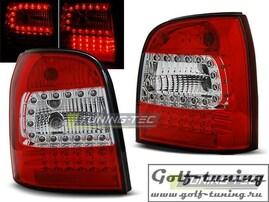 Audi A4 94-01 Универсал Фонари светодиодные, красно-белые