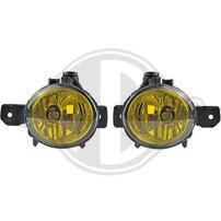 BMW E81/E82/E87/E88 04-07 Комплект противотуманных фар желтых