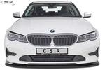 BMW 3er G20 седан 19- Накладка на передний бампер глянцевая