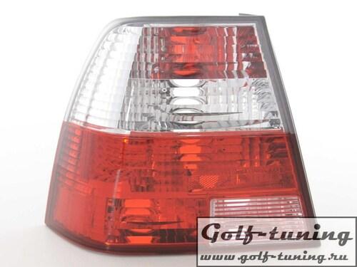 VW Bora Фонари красно-белые