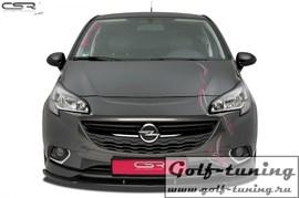 Opel Corsa E OPC Накладка на передний бампер Cupspoilerlippe