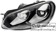 VW Golf 6 Фары GTI черные под ксенон
