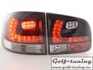 VW Touareg 02-10 Фонари светодиодные, черные
