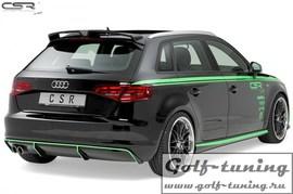 Audi A3 8V Sportback 12-16 Диффузор для заднего бампера