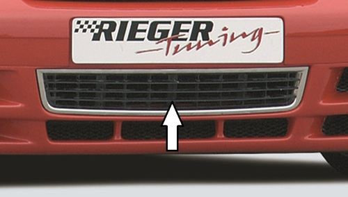 Решетка для накладки переднего бампера Rieger 00055017