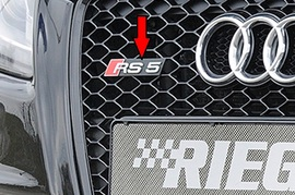 Audi A5 / S5 B8 / B81 07-11 Купе / Кабрио / Sportback Эмблема на решетку радиатора RS5