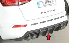 Seat Ateca Cupra 5FP 18-20/20- Накладка на задний бампер/диффузор