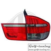 BMW X5 E70 07-10 Фонари светодиодные, красно-тонированные