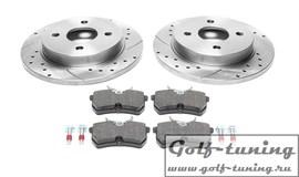 Ford Fiesta/Focus/Scorpio/Sierra Комплект спортивных тормозных дисков и колодок