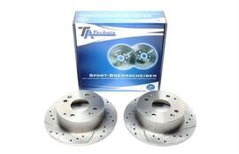 Honda Accord VI/Хэтчбек Комплект спортивных тормозных дисков