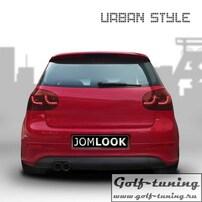 VW Golf 5 Фонари светодиодные, красные с светодиодным поворотником Urban Style