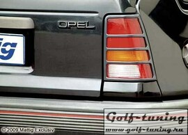 Opel Kadett E Накладки на фонари