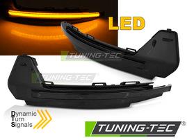 AUDI A1 10-18 Светодиодные тонированные динамические бегающие поворотники в зеркало