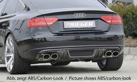 Audi A5 B8/B81 07-11 Sportback Накладка на задний бампер/диффузор