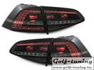 VW Golf 7 12-17 Фонари светодиодные, тонированные GTI Look