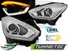 SUZUKI SWIFT VI 17- Фары TUBE LIGHT с бегающим поворотником хром