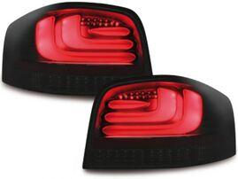Audi A3 8P 03-08 Фонари светодиодные, черные Lightbar