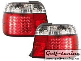 BMW E36 Компакт Фонари светодиодные, красно-белые