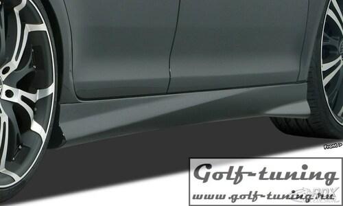 "Chevrolet Aveo T300 Накладки на пороги ""TurboR"""