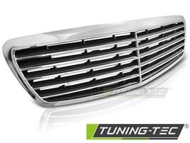 Mercedes W211 02-06 Решетка радиатора в стиле Avangarde хром