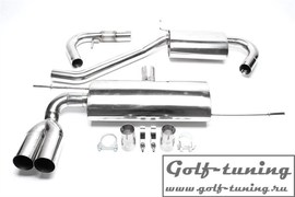 Audi A3 8P / VW Golf 5 / Golf 5 Plus Catback выхлоп 2x76mm