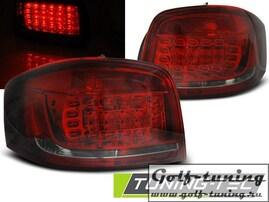 Audi A3 08-12 Фонари светодиодные, красно-тонированные