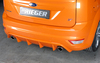 Ford Focus 2 ST 08-11 Накладка на задний бампер