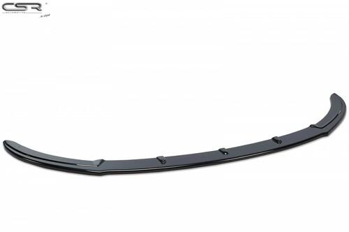 Hyundai Veloster 11- Накладка на передний бампер глянцевая