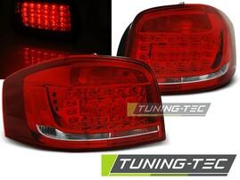 Audi A3 08-12 Фонари светодиодные, красно-белые