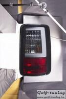 VW Caddy 03-14 Фонари светодиодные, черные, lightbar design