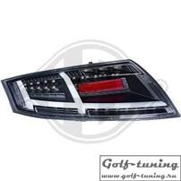 Audi TT 06-14 Фонари светодиодные, черные