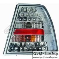 VW Bora Фонари светодиодные, хром