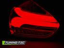 FORD FOCUS 3 15-18 Хэтчбек Фонари lightbar design красно-белые с бегающим поворотником