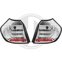 BMW E87 04-07 Фонари Lightbar design хром