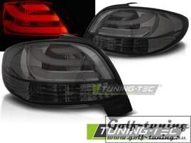Peugeot 206 98- Фонари светодиодные, lightbar design, тонированные