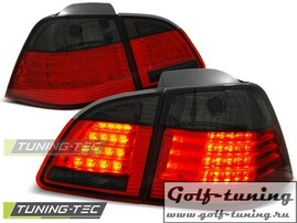 BMW E61 04-07 Универсал Фонари светодиодные, красно-тонированные