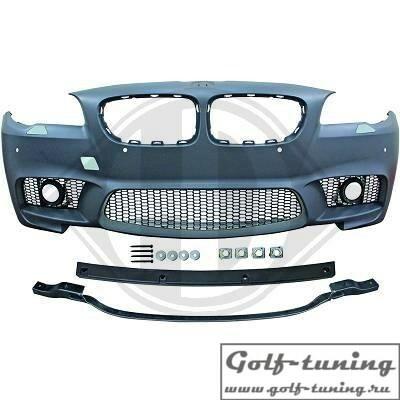 BMW F10 LCI 13-17 Бампер передний M5 Look