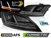 Audi TT 8J 10-14 Фары lightbar design черные под AFS ксенон