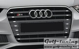 Audi S4 11-15 Решетка радиатора platinumgrau +PDC