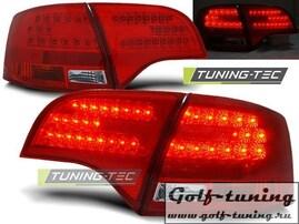 Audi A4 B7 04-08 Универсал Фонари светодиодные, красно-белые