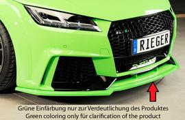 Audi TT RS (8J/8J1-FV/8S) 16-18 Накладка на передний бампер/сплиттер