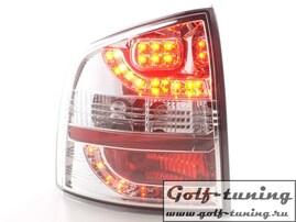 Skoda Octavia Combi 1Z 05-11 Фонари светодиодные, хром