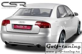 Audi A4 B7 Седан 04-08 Накладка на задний бампер SF-Line design