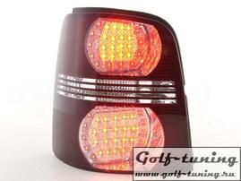 VW Touran 03-10 Фонари светодиодные, красно-белые