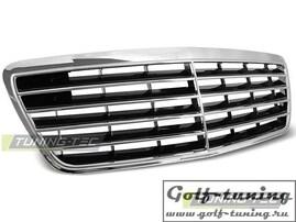 Mercedes W210 99-02 Решетка радиатора хром AVANTGARDE